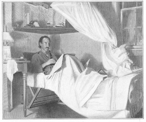 robertlouisstevenson-in-bed